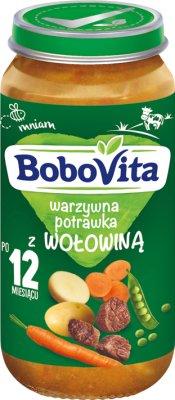 BoboVita obiadek warzywna potrawka z wołowiną