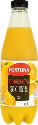 Fortuna Pomarańcza sok 100 % z dodatkiem witaminy C