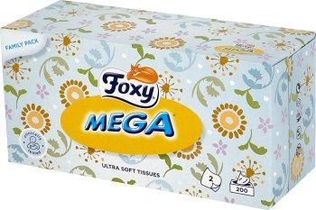 Foxy Mega Ultra miękkie chusteczki higieniczne