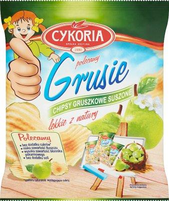 Cykoria Grusie Chipsy gruszkowe suszone