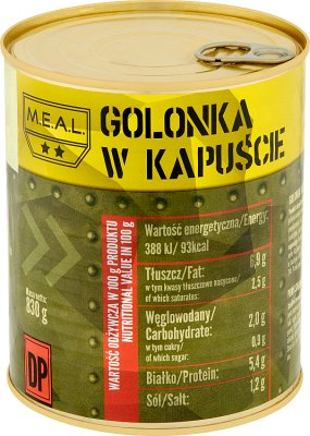 M.E.A.L  Golonka w kapuście