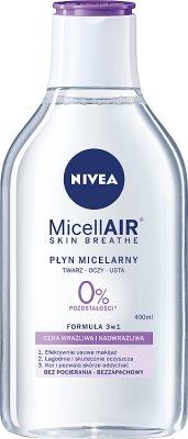 Nivea Pielęgnujący płyn micelarny do skóry wrażliwej i nadwrażliwej