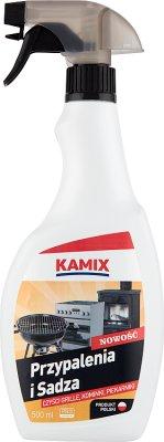 Kamix Płyn w sprayu do czyszczenia grilla kominków i piekarników.Przypalenia i Sadza