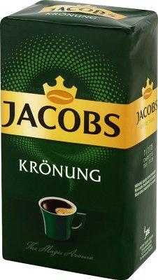 Jacobs Kronung kawa mielona pakowana próżniowo