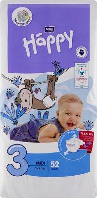 Bella Baby Happy Pieluchy  3 Midi 5-9 kg