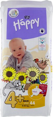 Bella Baby Happy Pieluchy  Maxi Plus (4+) 9-20 kg