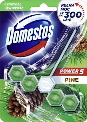 Domestos WC Power 5 zawieszka z kostką Pine