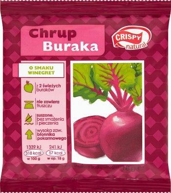 Crispy Natural Chrup buraka.Suszone chipsy o smaku winegret