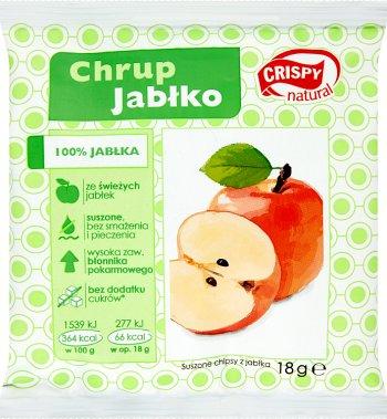 Crispy Natural Chrup jabłko.Suszone chipsy jabłko 100%