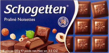 Schogetten czekolada  Praline Noisettes