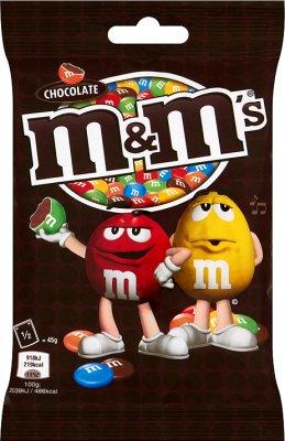M&M's Chocolate Czekoladowe kulki w kolorowych skorupkach