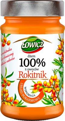 Łowicz Dżem 100% z owoców Rokitnik
