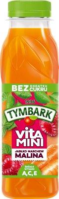 Tymbark Vitamini Sok malina,marchew,jabłko