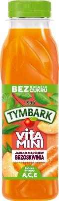 Tymbark Vitamini Sok brzoskwinia,marchew,jabłko