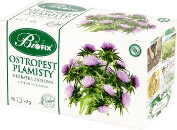 Bifix Ostropest Plamisty Suplement diety Herbata ziołowa