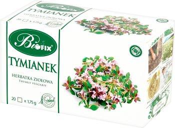 Bifix Tymianek Suplement diety Herbata ziołowa