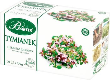 Bifix Macierzanka Suplement diety Herbata ziołowa