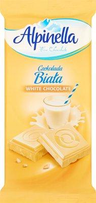 Alpinella Czekolada biała
