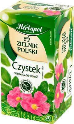 Herbapol Czystek Suplement diety Herbata ziołowa