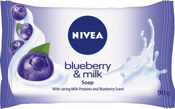 Nivea Мыло куб Blueberry & Milk