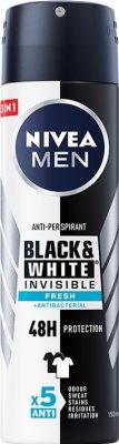 Nivea Men Antyperspirant Invisible Fresh spray przeciw białym śladom