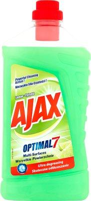 Ajax óptima 7 Líquido universal de limón