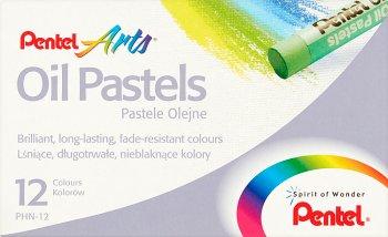 Pentel Pastele olejne 12 kolorów