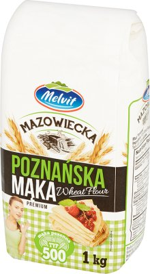 Melvit Mąka mazowiecka poznańska typ 500