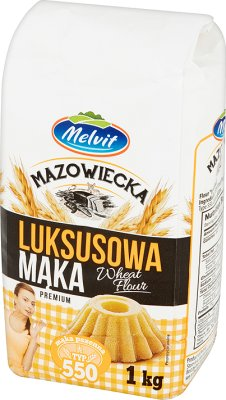 Melvit Harina Mazowsze tipo de lujo 550