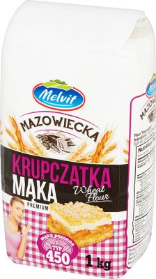 Melvit Mąka mazowiecka krupczatka typ 450