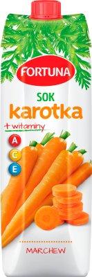 Fortuna Karotka Sok marchew+witaminy A,C,E