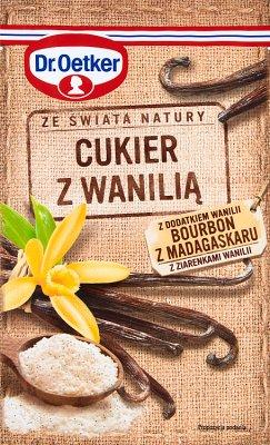 Dr.Oetker Cukier z wanilią Bourbon z Madagaskaru z ziarenkami wanilii