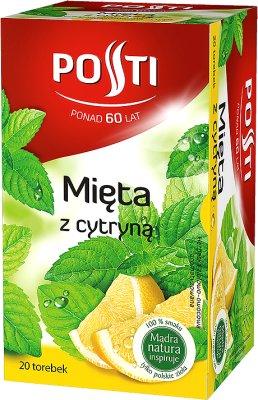 Posti herbatka ziołowa ekspresowa Mięta z cytryną