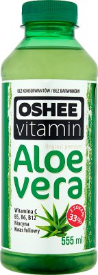 OSHEE Vitamin Aloe vera Napój niegazowany owocowy