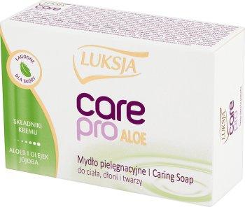 Luksja Care Pro Mydło pielęgnacyjne z aloesem, jojobą i składnikami kremu Aloe & Jojoba