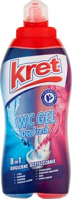 Kret WC Gel Duo 8in1 Fresh