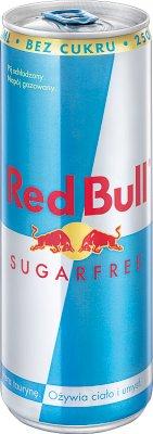 Red Bull Sugarfree Energy Drink napój energetyczny bez cukru