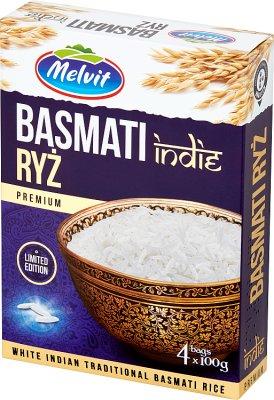 Melvit Ryż Basmati Indie 4x100 g
