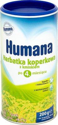 Humana Herbatka koperkowa z kminkiem