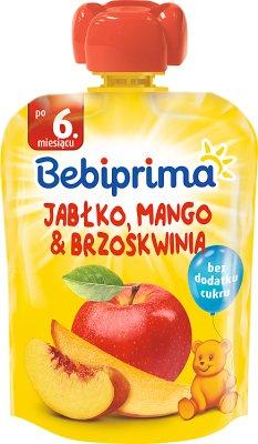 Bebiprima Mus owocowy Jabłko, mango & brzoskwinia