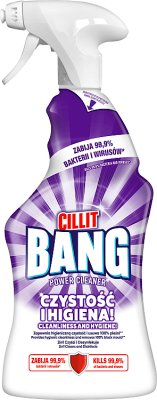 Cillit Bang Cleaner Whitening and hygiene