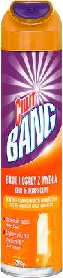 Cillit Bang Środek czyszczący Aktywna piana.Osady z mydła i prysznice