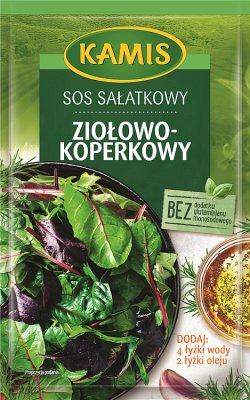 Kamis Sos sałatkowy  koperkowo – ziołowy
