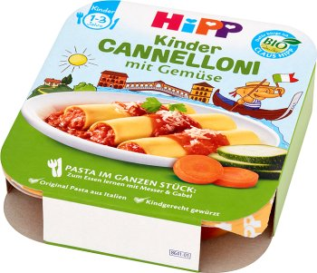 Cannelloni z warzywami BIO