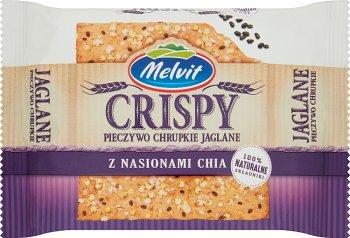 Melvit Crisper Pieczywo chrupkie jaglane z nasionami chia