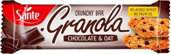 Sante Green Tree Baton granola owsiany z czekoladą