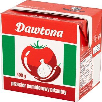 Dawtona picante puré de tomate
