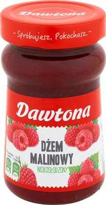 Dawtona bajo nivel de azúcar mermelada de frambuesa