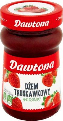 Dawtona Dżem truskawkowy o obniżonej zawartości cukrów