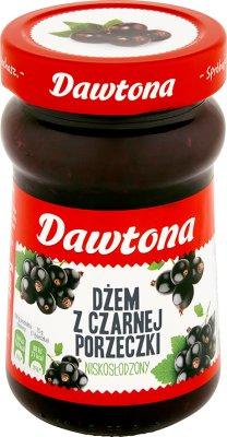 Dawtona mermelada de grosella negra con el azúcar baja